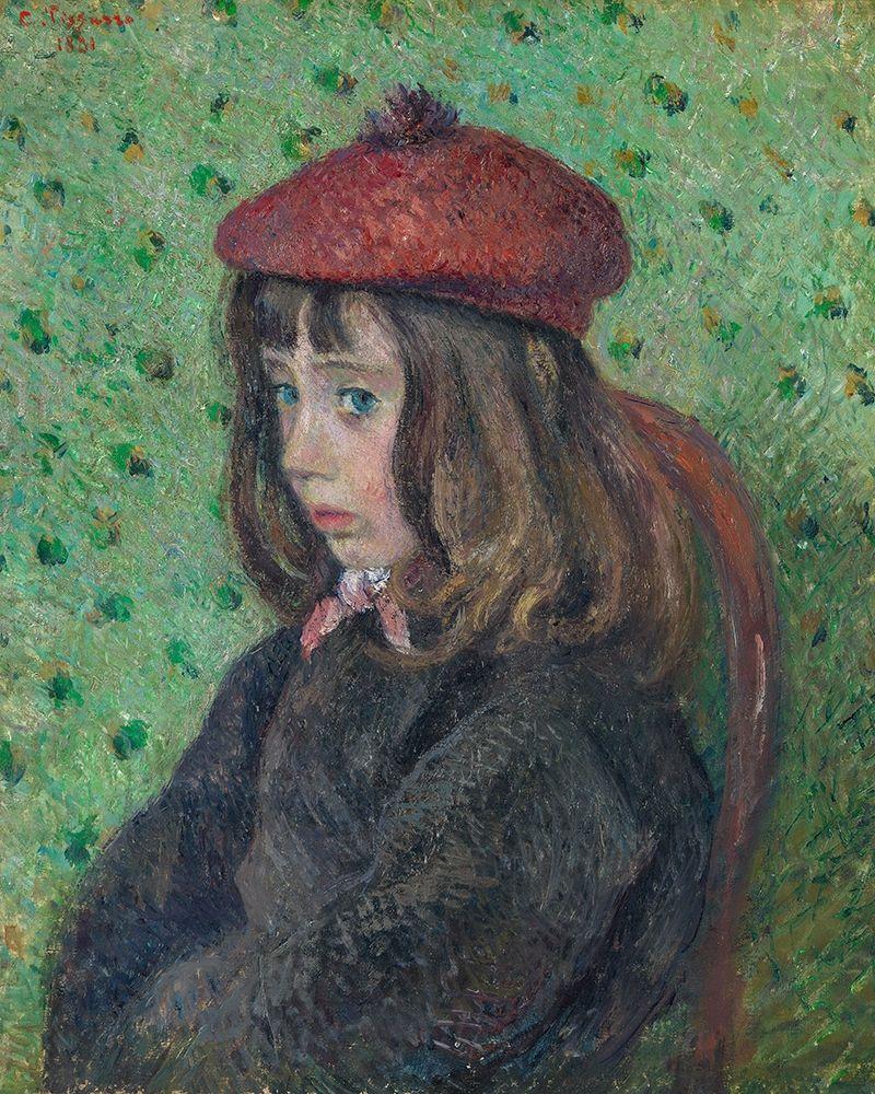 konfigurieren des Kunstdrucks in Wunschgröße Portrait of Felix Pissarro von Pissarro, Camille