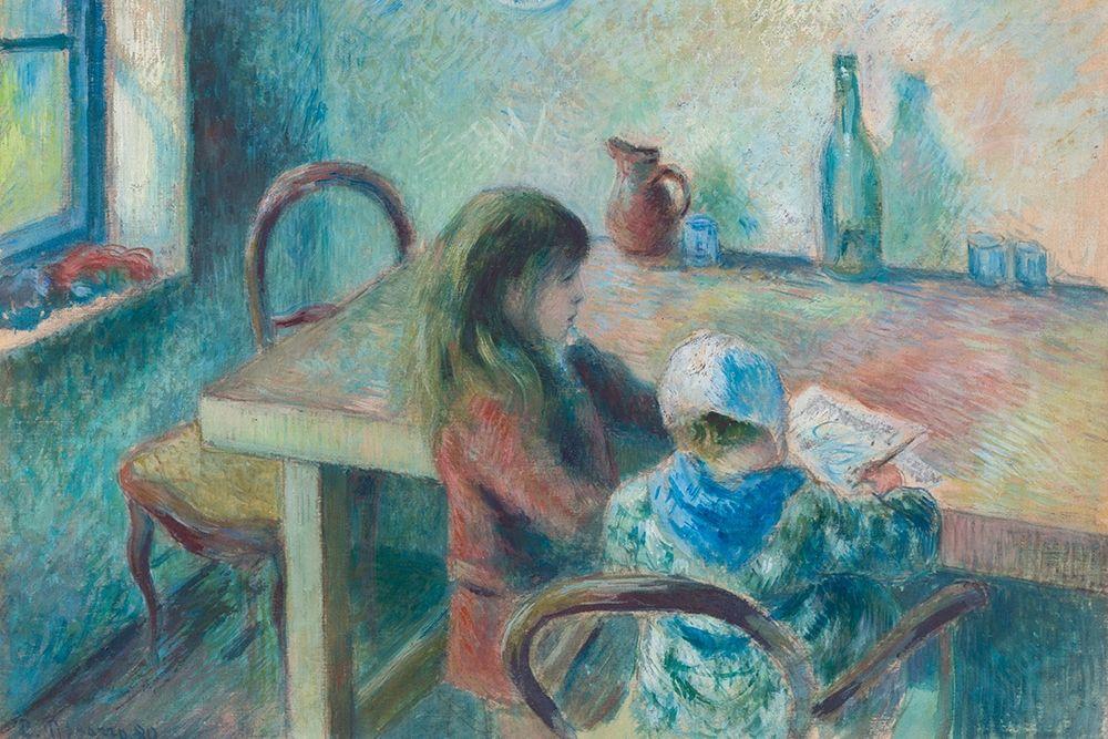 konfigurieren des Kunstdrucks in Wunschgröße The Children von Pissarro, Camille
