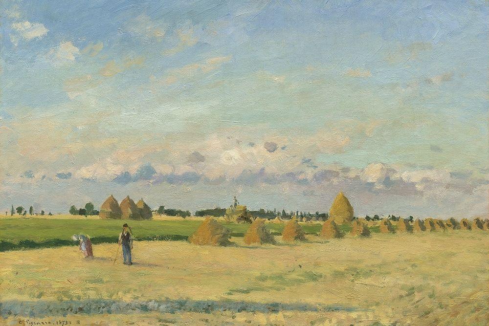 konfigurieren des Kunstdrucks in Wunschgröße Landscape, Ile-de-France von Pissarro, Camille