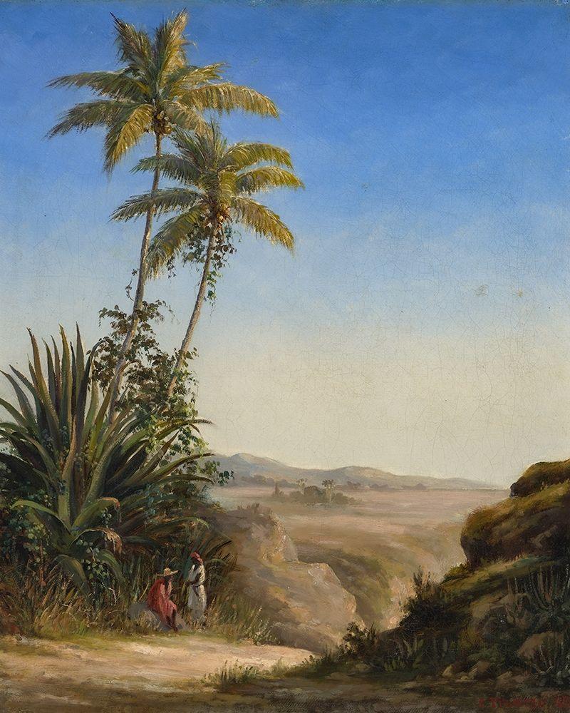 konfigurieren des Kunstdrucks in Wunschgröße Landscape, St. Thomas von Pissarro, Camille