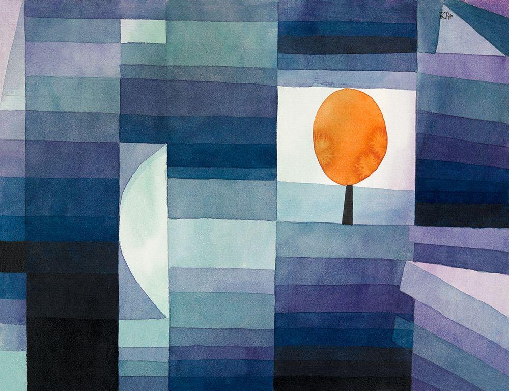 konfigurieren des Kunstdrucks in Wunschgröße The Harbinger of Autumn von Klee, Paul