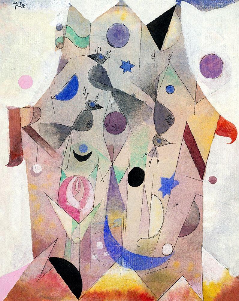 konfigurieren des Kunstdrucks in Wunschgröße Persian Nightingales von Klee, Paul