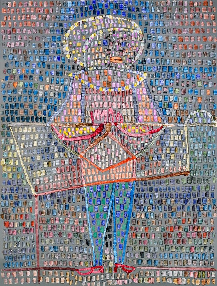 konfigurieren des Kunstdrucks in Wunschgröße Boy in Fancy Dress von Klee, Paul