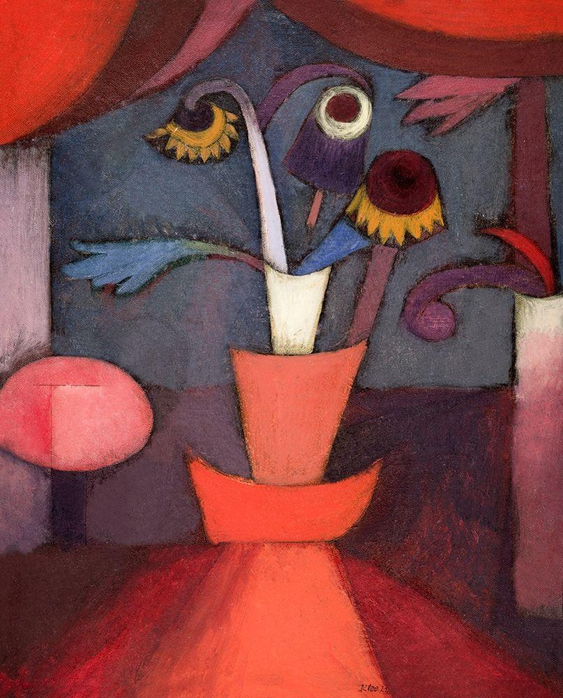 konfigurieren des Kunstdrucks in Wunschgröße Autumn Flower von Klee, Paul