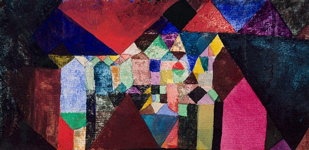 konfigurieren des Kunstdrucks in Wunschgröße Municipal Jewel von Klee, Paul