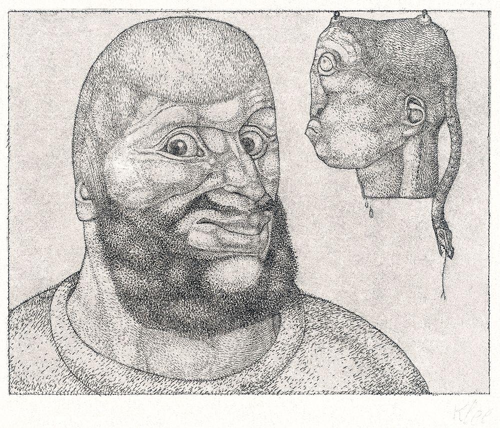 konfigurieren des Kunstdrucks in Wunschgröße Perseus von Klee, Paul