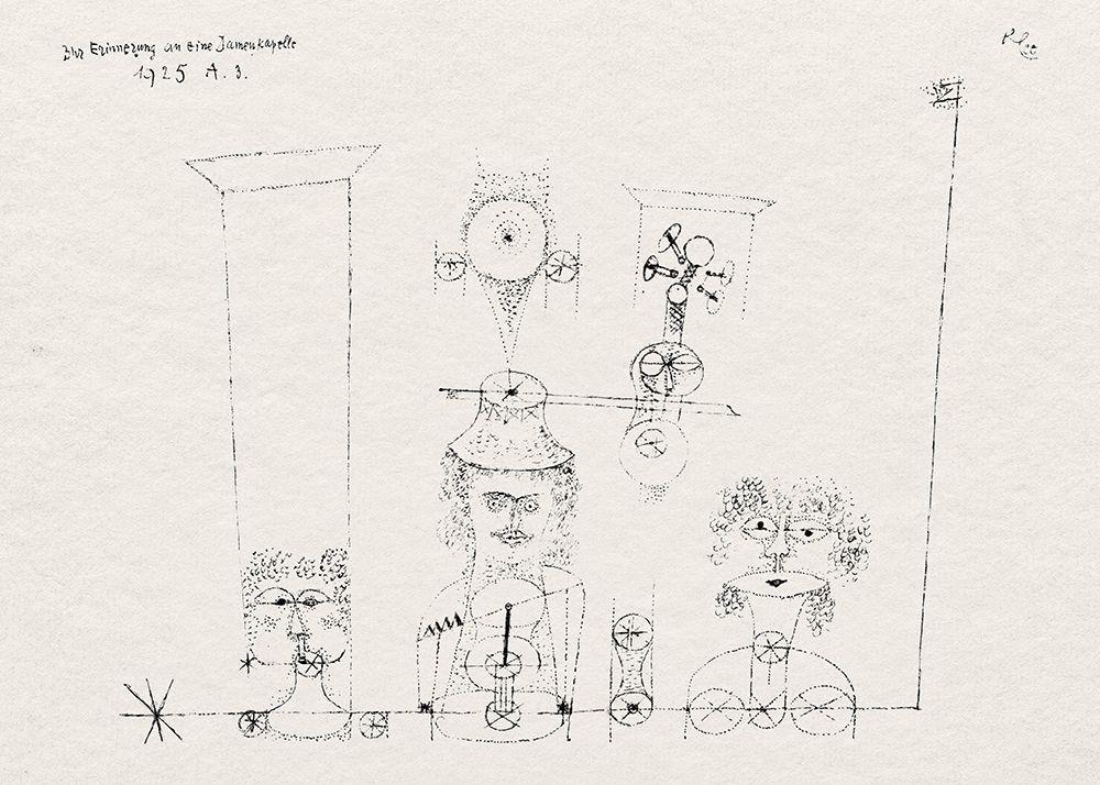 konfigurieren des Kunstdrucks in Wunschgröße In Memory of an All Girl Band von Klee, Paul