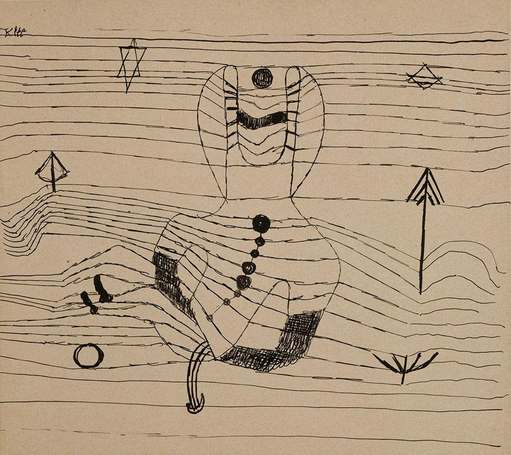 konfigurieren des Kunstdrucks in Wunschgröße Rider Unhorsed and Bewitched von Klee, Paul