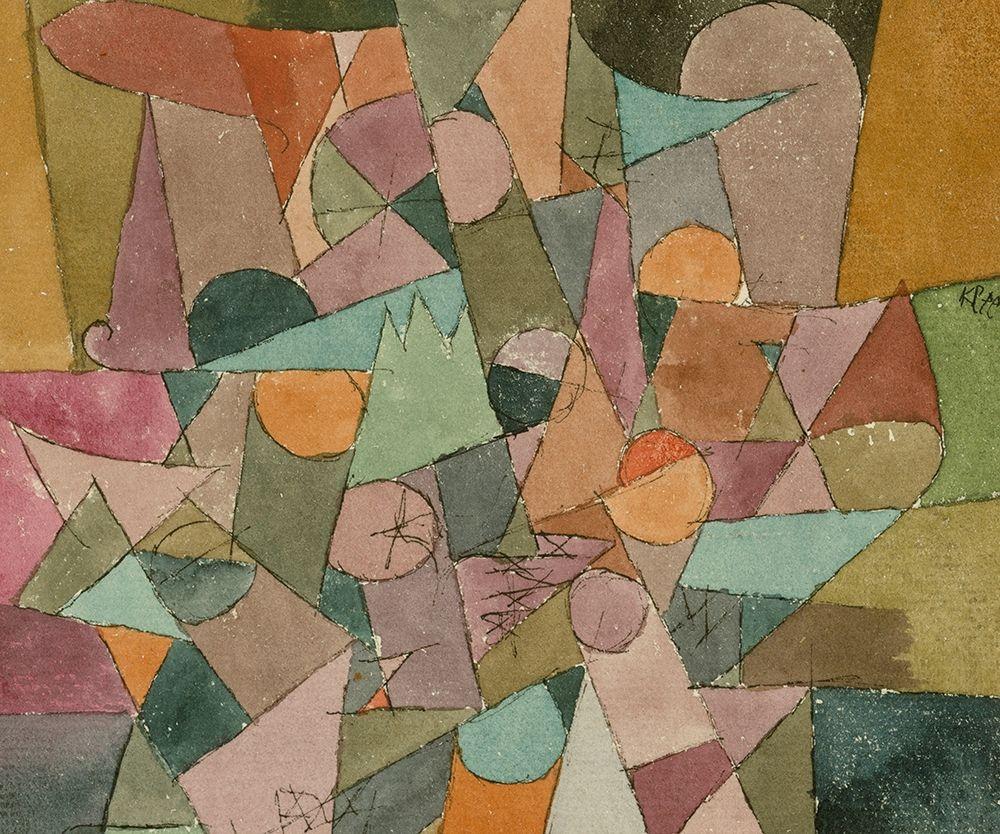konfigurieren des Kunstdrucks in Wunschgröße Untitled Abstract von Klee, Paul