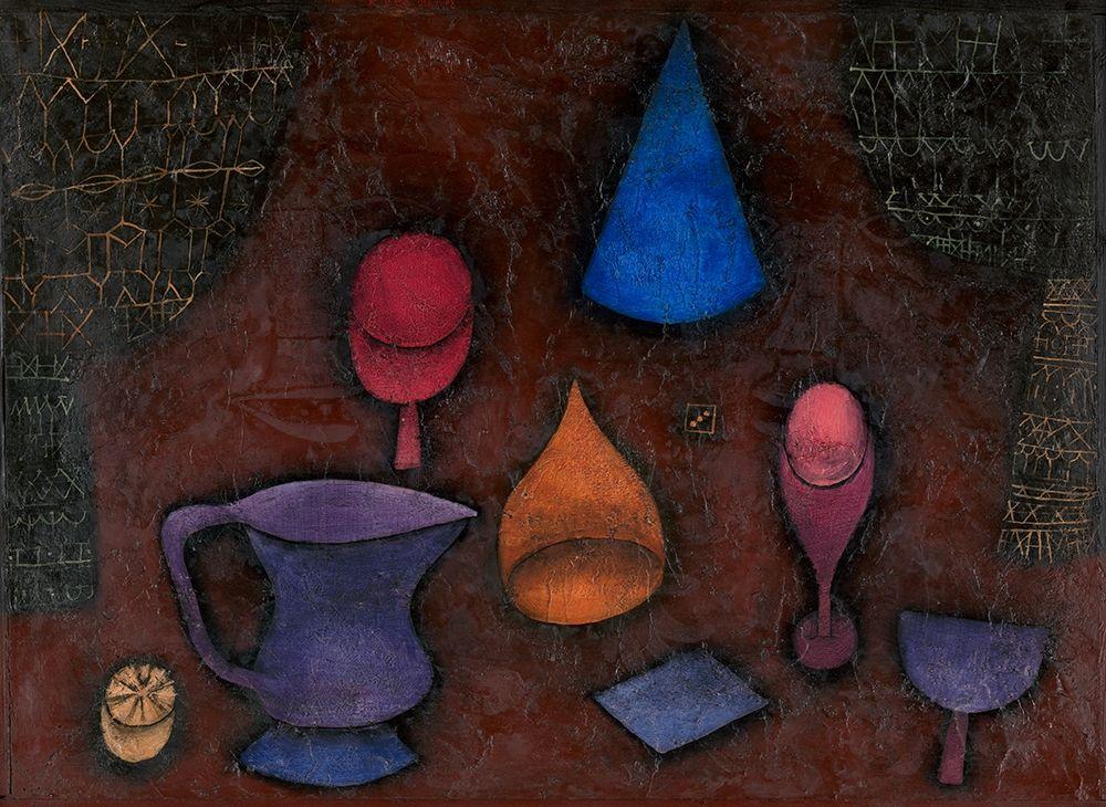 konfigurieren des Kunstdrucks in Wunschgröße Still Life von Klee, Paul
