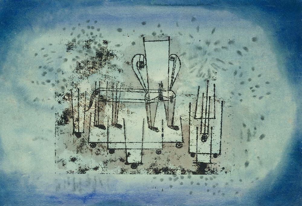 konfigurieren des Kunstdrucks in Wunschgröße The Chair Animal von Klee, Paul