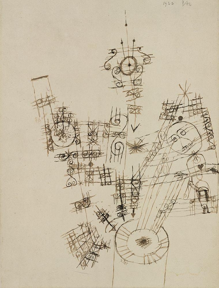konfigurieren des Kunstdrucks in Wunschgröße The Last Adventure of the Knight Errant von Klee, Paul