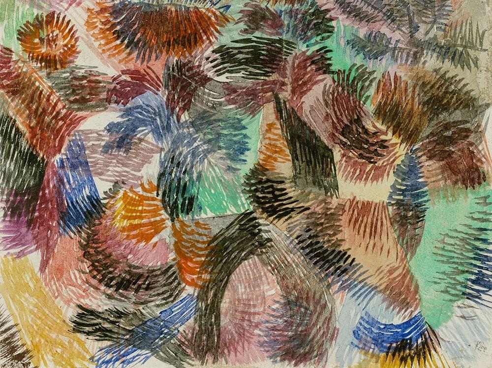 konfigurieren des Kunstdrucks in Wunschgröße Libido of the Forest von Klee, Paul