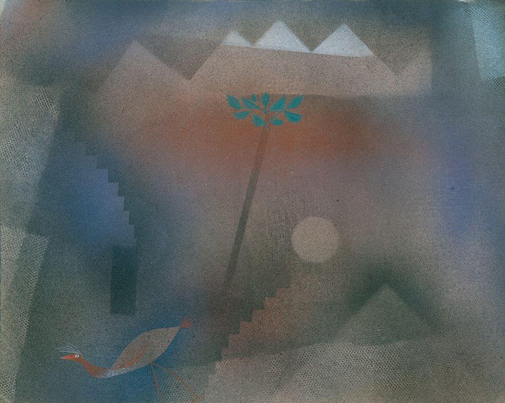 konfigurieren des Kunstdrucks in Wunschgröße Bird Wandering Off von Klee, Paul