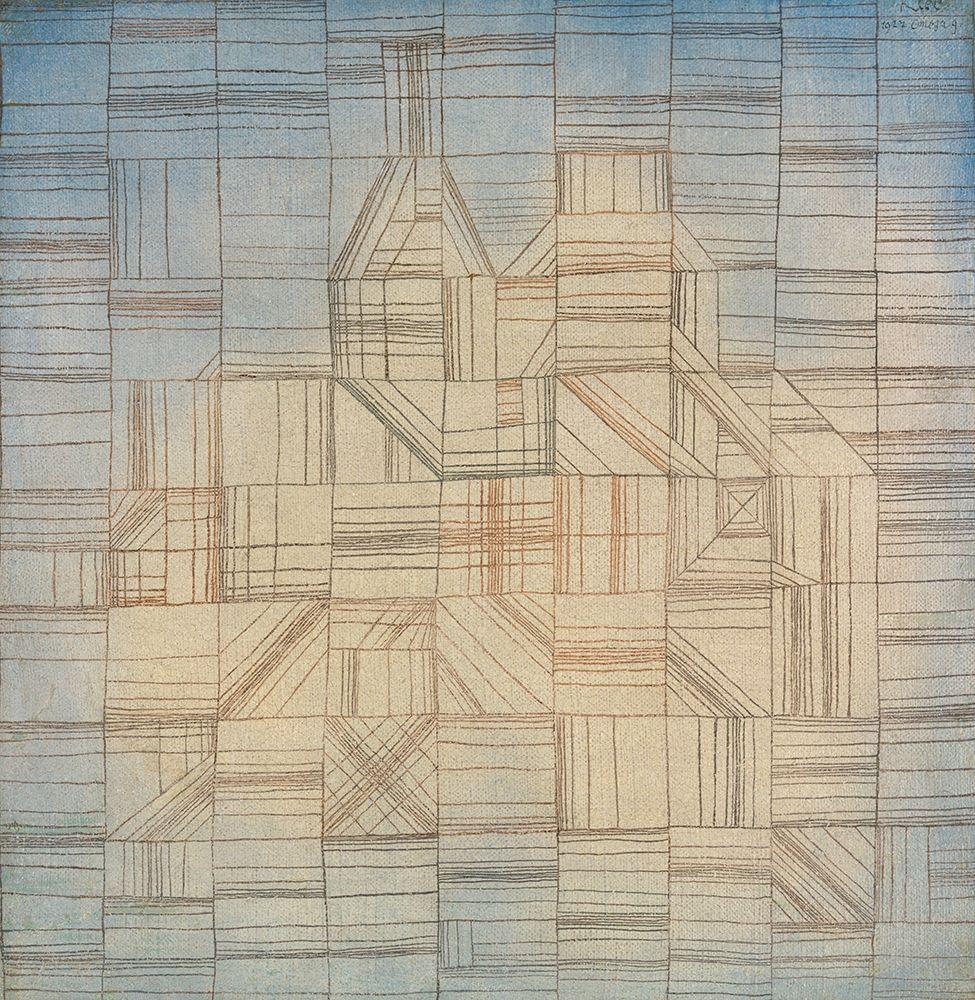 konfigurieren des Kunstdrucks in Wunschgröße Variations von Klee, Paul